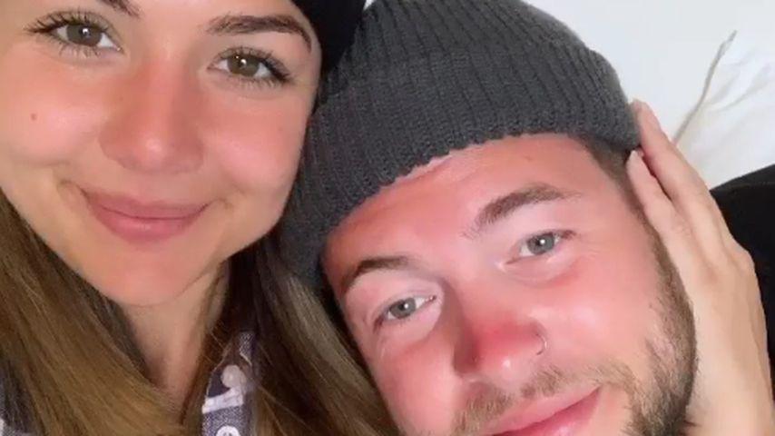 Katharina Eisenblut und ihr Freund Marvin, DSDS-Kandidaten