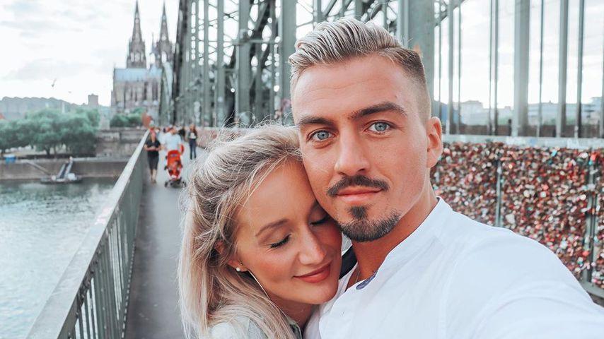 Katharina Wagener und Kevin Yanik im September 2020 in Köln