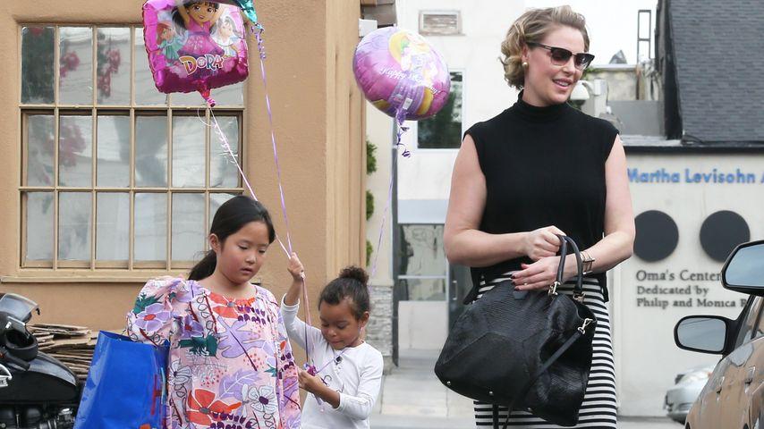 Baby-Eifersucht oder Vorfreude bei Katherine Heigls Mädchen?