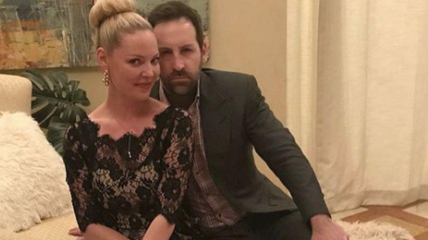 Katherine Heigl mit ihrem Mann Josh Kelley, Dezmeber 2018