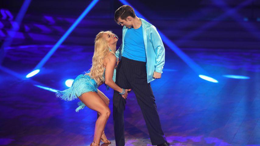 """Kathrin Menzinger und Heiko Lochmann, """"Let's Dance""""-Tanzpaar"""
