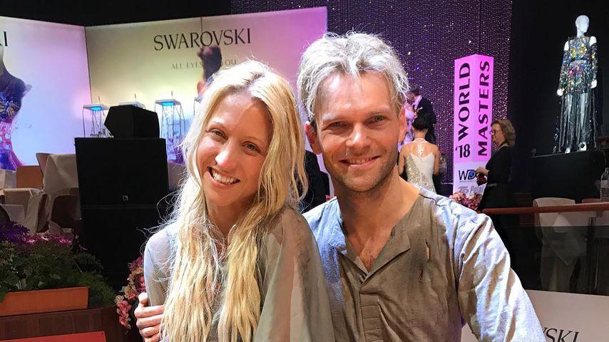 Kathrin Menzinger und Vadim Garbuzov, fünffache Weltmeister im Tanzsport