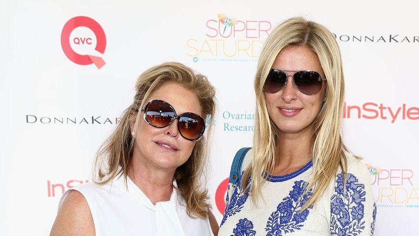 Kathy und Nicky Hilton im July 2013 im US-Bundesstaat New York