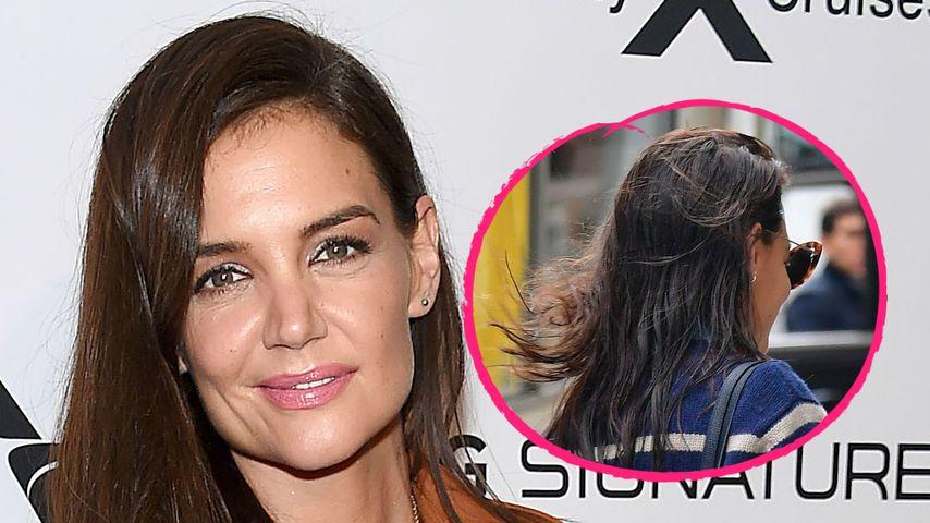 Herrlich normal: Katie Holmes geht mit nassen Haaren bummeln