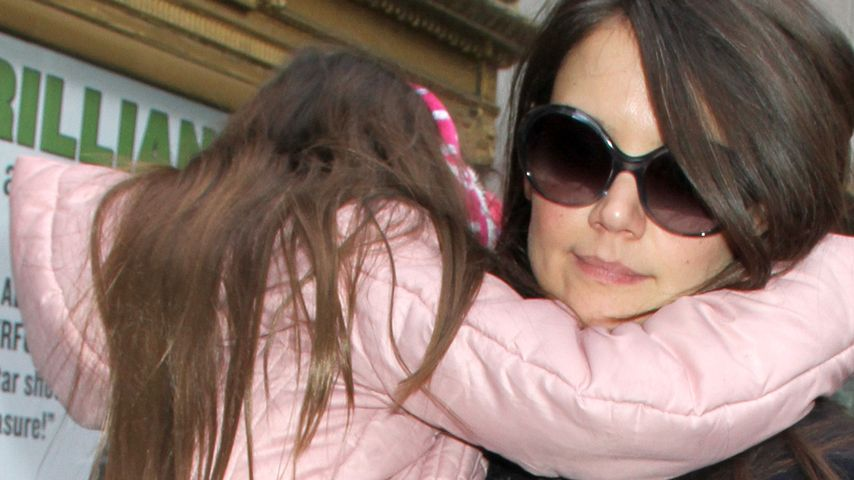Katie Holmes: Model-Verbot für Töchterchen Suri