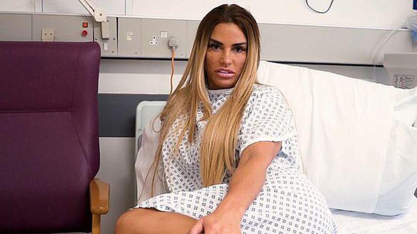 Katie Price im Krankenhaus, August 2020
