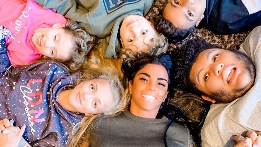 Katie Price mit ihren Kindern