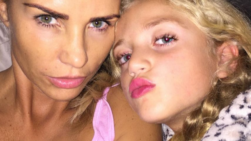 Peinliche Prinzessinnen? Katie Price im Make-up-Wahn