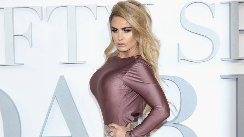 "Katie Price auf der Premiere von ""Fifty Shades Darker"" in London"