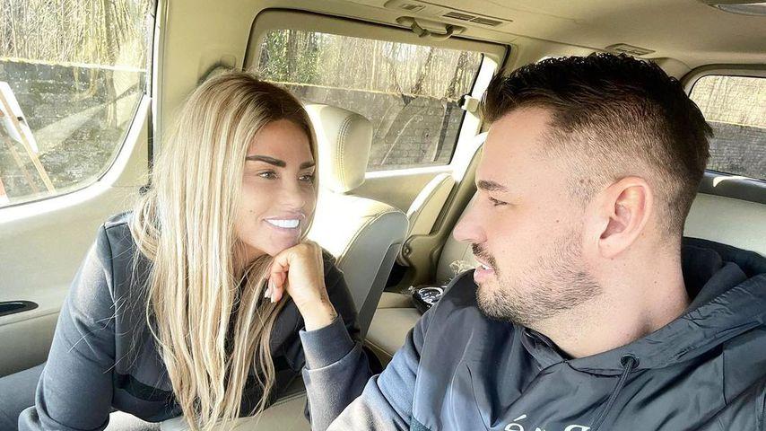 Katie Price und Carl Woods im Februar 2021
