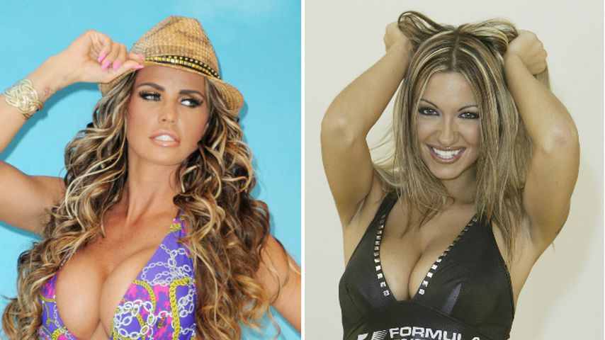 Collage: Katie Price und Jodie Marsh
