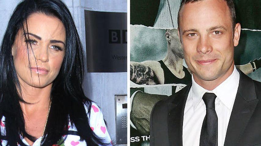 Twitter-Flirt? Oscar Pistorius dankt Katie Price!