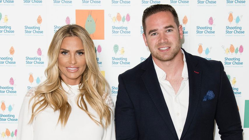 Katie Price und Kieran Hayler in London 2016