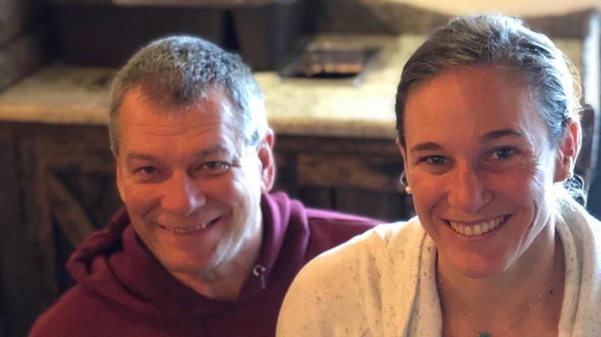 Katie Zaferes und ihr Vater