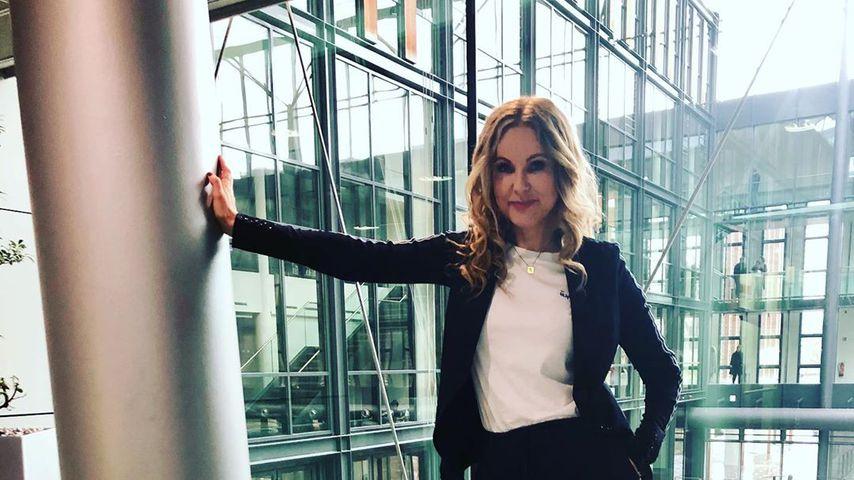 Katja Burkard im April 2020 in Köln