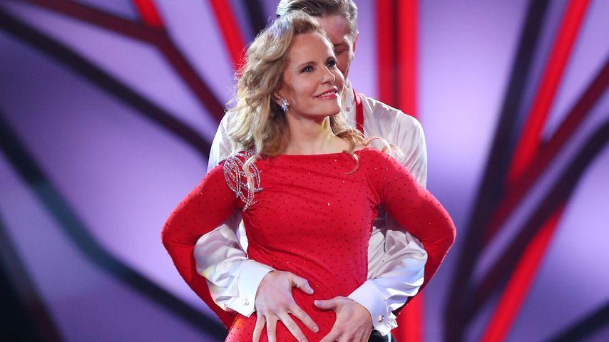 Katja Burkard bei Let's Dance
