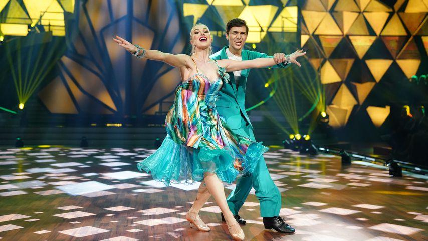"""Katja Kalugina und Lukas Rieger bei """"Let's Dance"""""""