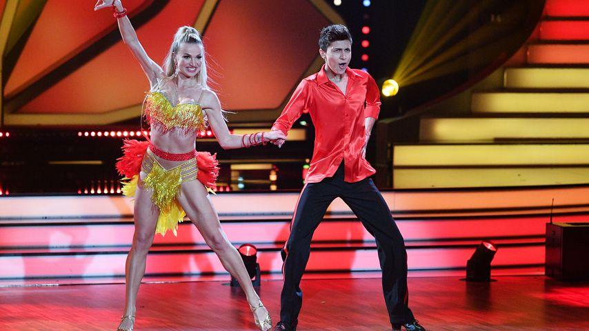 """Katja Kalugina und Lukas Rieger tanzen bei """"Let's Dance"""""""