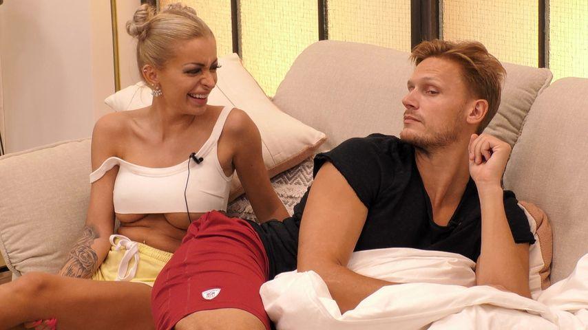 """Katja Krasavice und Pascal Behrenbruch bei """"Promi Big Brother"""""""
