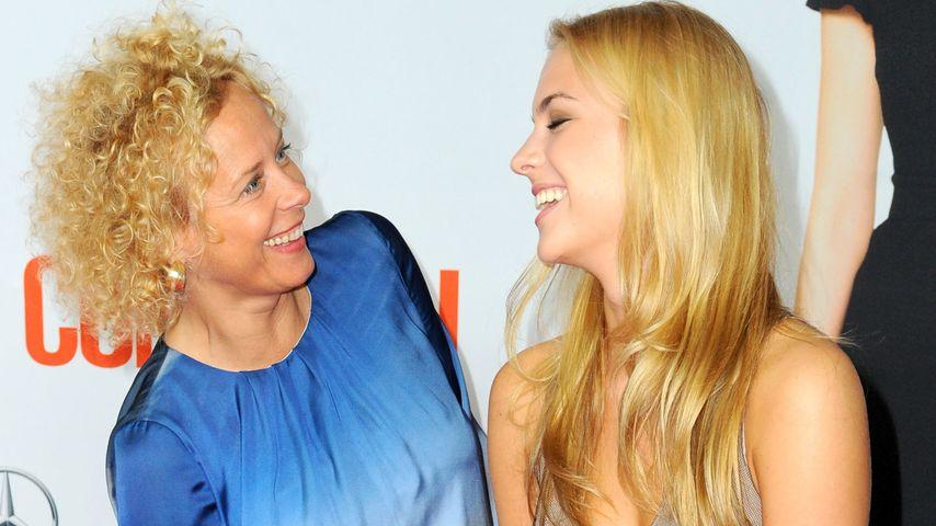 Total entspannt! Katja Riemann & Tochter Paula