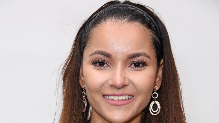 Reality-Star Kattia Vides beim Bild-Renntag 2018 in Gelsenkirchen