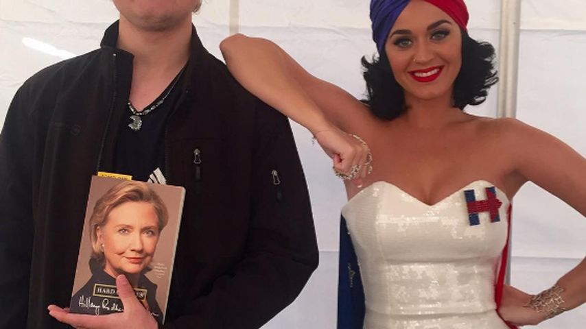Katy Perry und Hillary Clinton