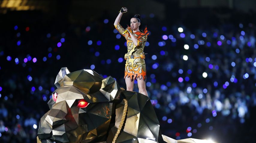 Katy Perry beim Super Bowl 2015