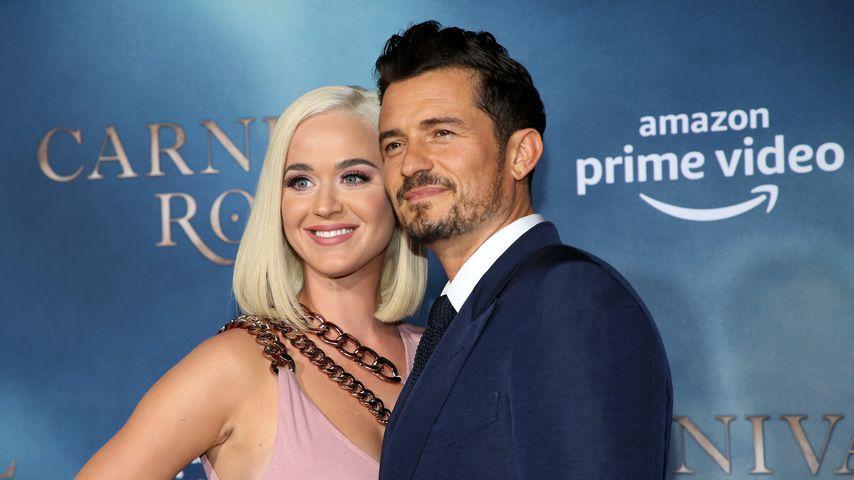 """Katy Perry und Orlando Bloom bei der """"Carnival Row""""-Premiere"""