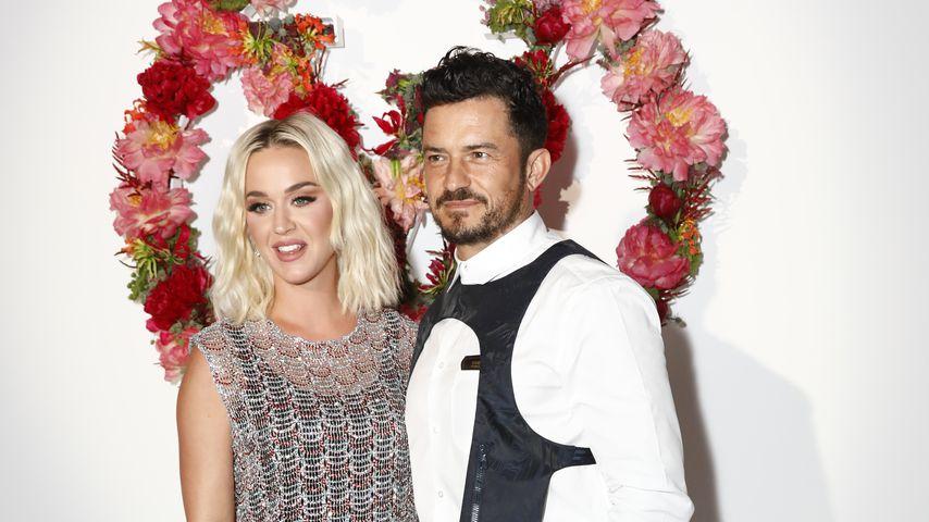 Katy Perry und Orlando Bloom beim Louis Vuitton Parfum Dinner