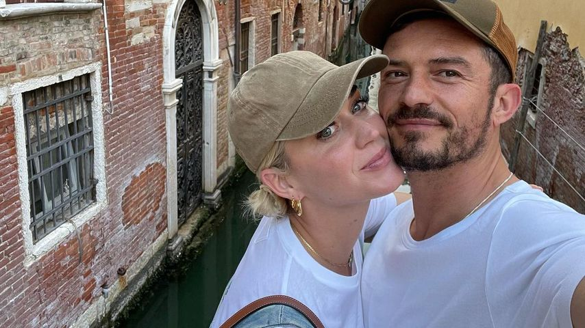 Katy Perry und Orlando Bloom im Juni 2021 in Venedig