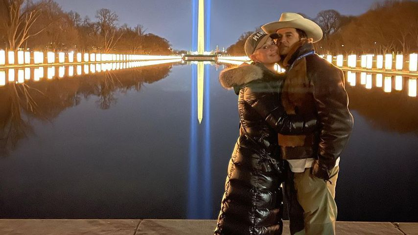 Katy Perry und Orlando Bloom in Washington, Januar 2021