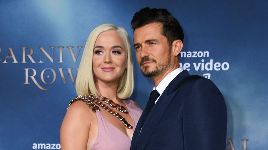 "Katy Perry und Orlando Bloom auf der ""Carnival Row""-Premiere in Los Angeles"