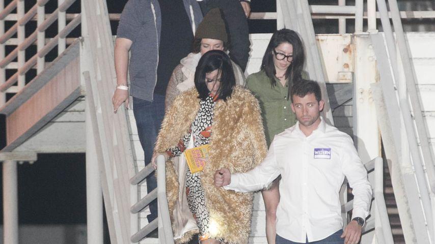 Erwischt: Katy Perry & Orlando verlassen heimlich Konzert!