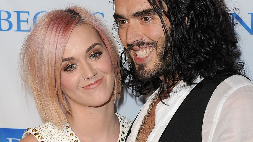 Katy Perry und Russell Brand in Los Angeles 2011
