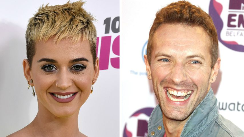 Neues Superpaar? Katy Perry & Chris Martin halten Händchen
