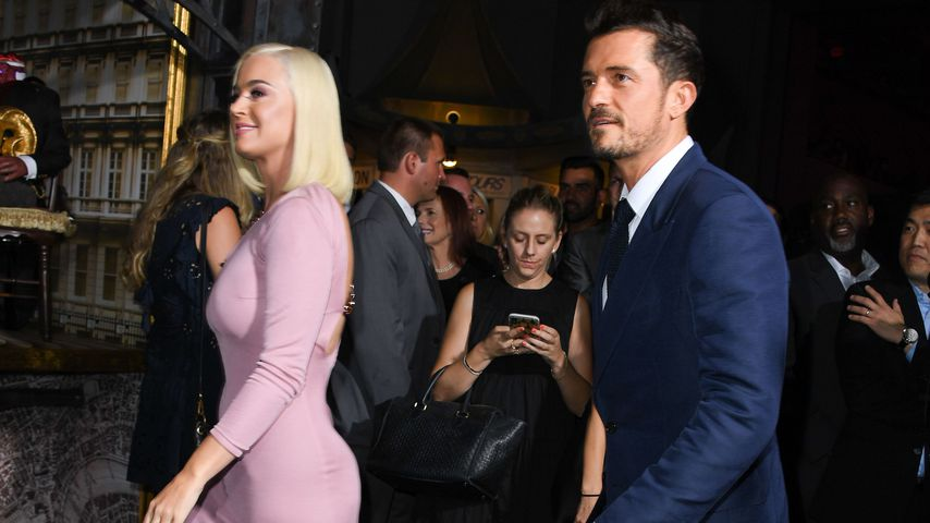 Katy Perry und Orlando Bloom  im August 2019
