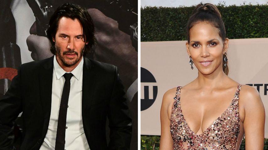 Keanu Reeves & Halle Berry: Sind die zwei heimlich ein Paar?