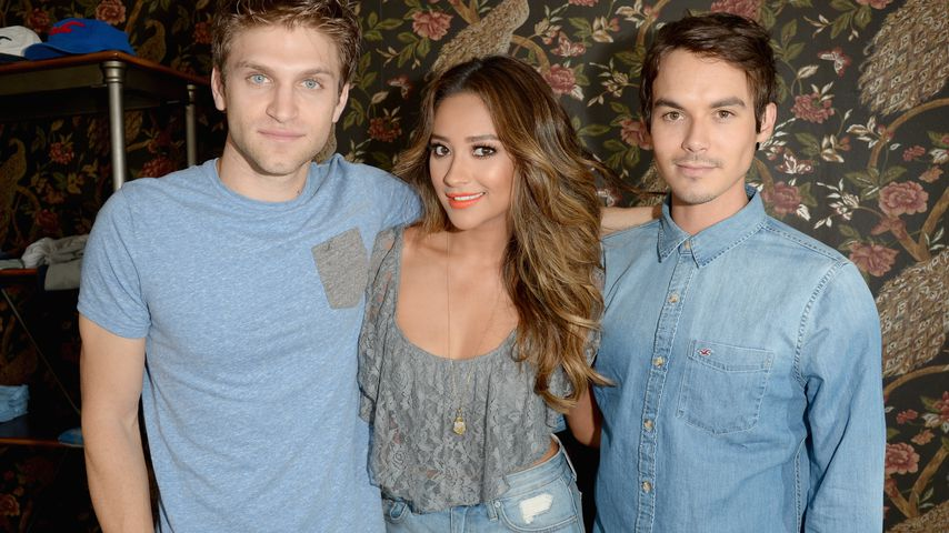 Keegan Allen, Shay Mitchell und Tyler Blackburn