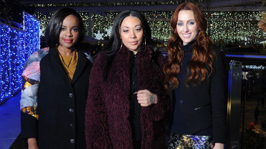 Keisha Buchanan, Mutya Buena und Siobhan Donaghy, die Original-Sugababes-Besetzung