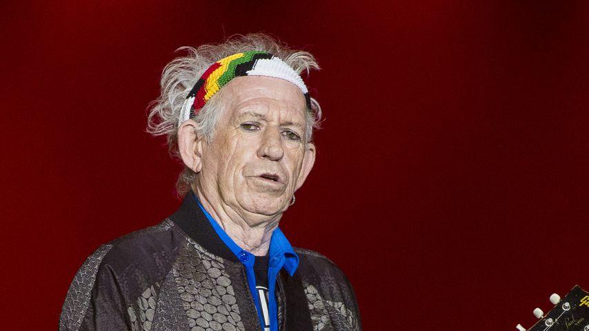 Ein Jahr trocken! Keith Richards rührt Alkohol fast nicht an