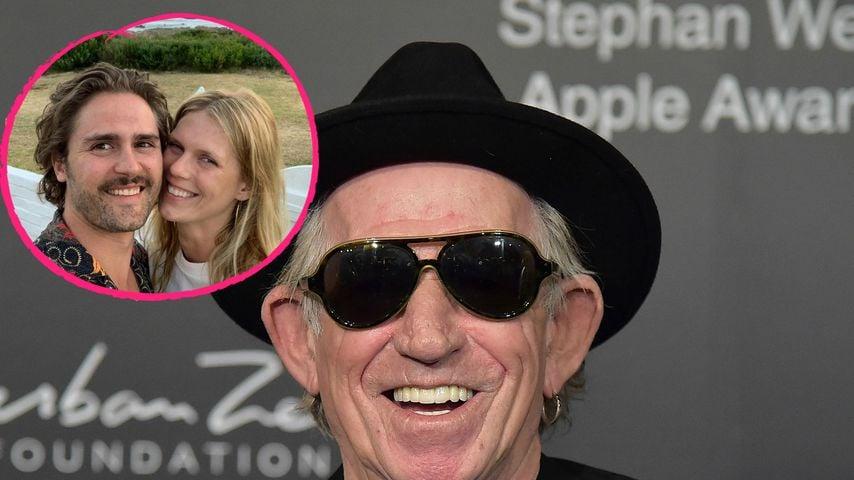 Keith Richards superhappy: Seine Tochter wird heiraten