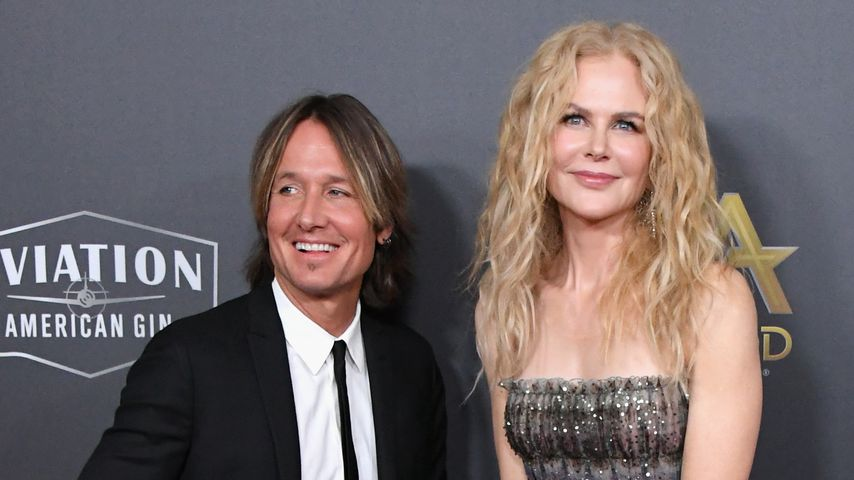 Keith Urban und Niocle Kidman bei den Hollywood Film Awards im November 2018