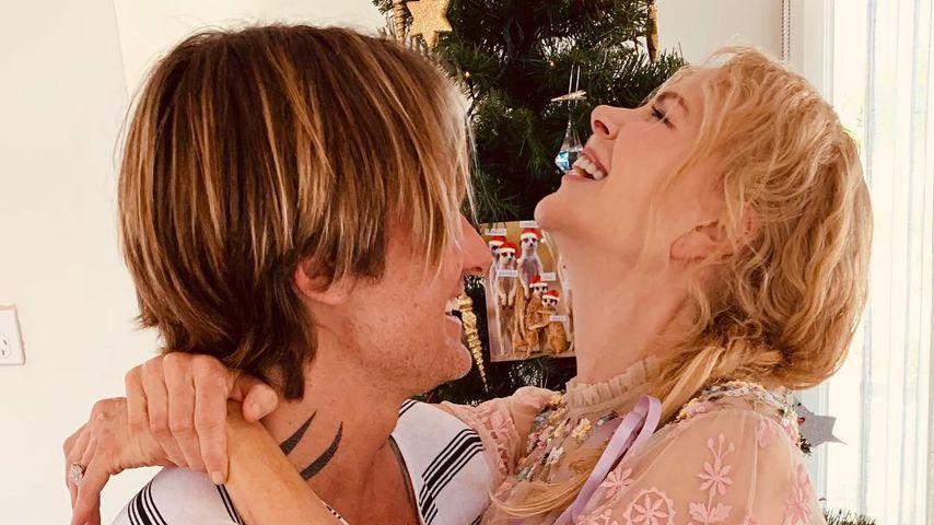 Keith Urban und Nicole Kidman an Weihnachten 2018