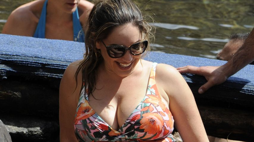 Kelly Brook: Hier geht die ehemals Sexiest Woman Alive baden