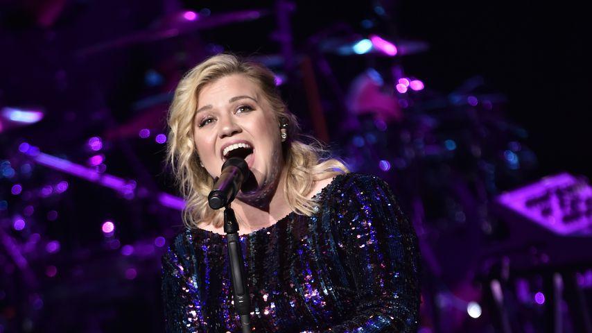 Kelly Clarkson bei einem Benefizkonzert in Las Vegas