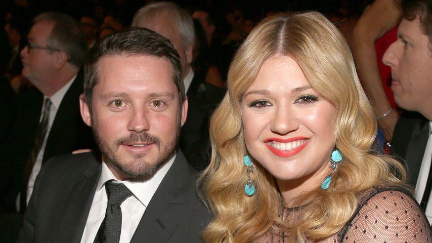 Brandon Blackstock und Kelly Clarkson bei den Grammy Awards 2013 in Los Angeles