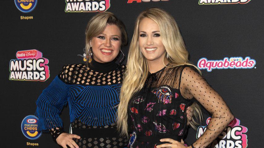 Kelly Clarkson und Carrie Underwood