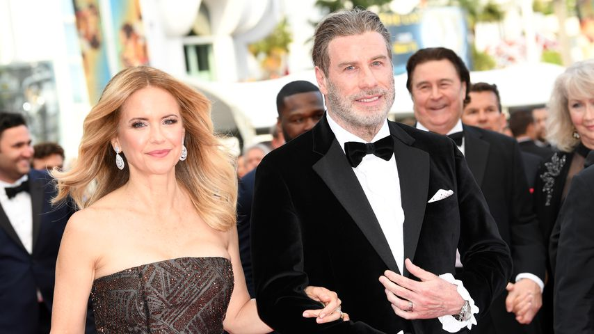Kelly Preston und John Travolta im Mai 2018