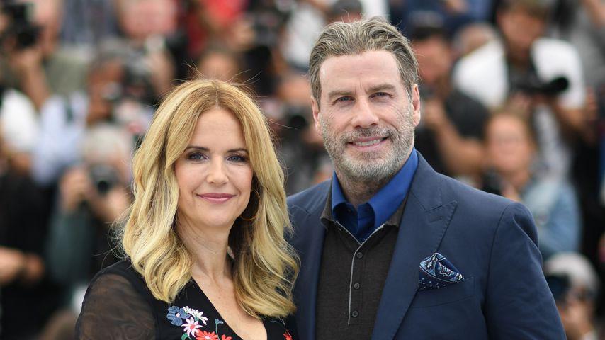 Kelly Preston und John Travolta im Mai 2018 in Cannes