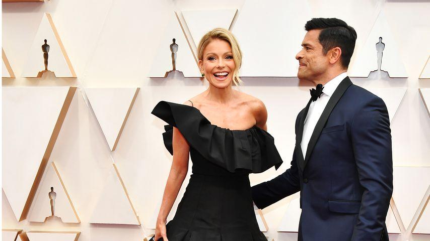 Kelly Ripa und Mark Consuelos bei den Oscars 2020